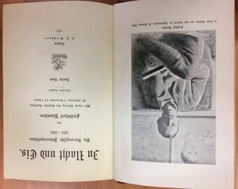 """2 Antique German books """"In Nacht und Eis"""" by Fridtjof Nansen, Leipzig, 1897, Old German, Arctic Region History"""