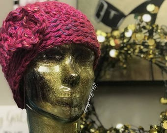 Plush Everyday Winter Hat With a Twist