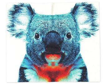 Koala Blanket - Colorful Animals
