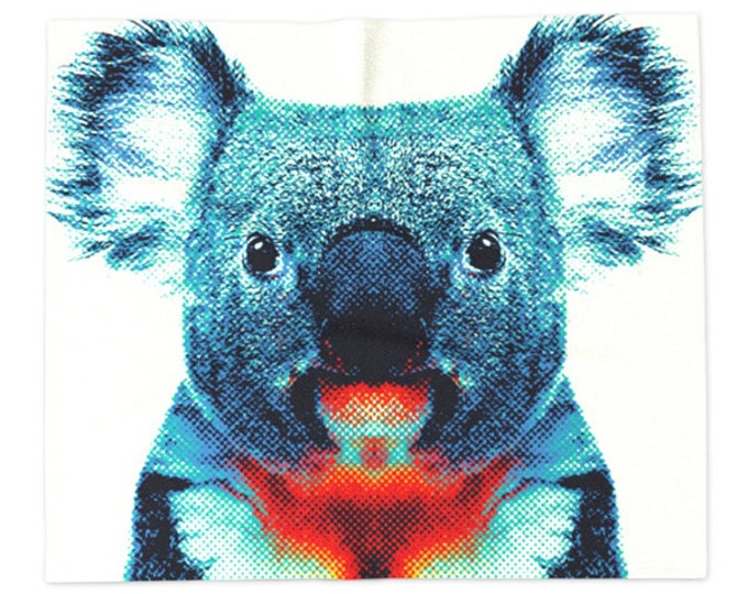 Koala Blanket - Colorful Animals