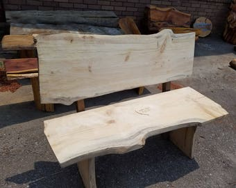 Wedding Guest Book Bench -WITH BACK  (kit) Free Shipping