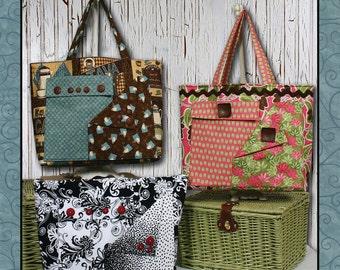 PDF - Pockets-A-Plenty tote bag Sewing Pattern