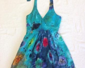 Funky Tie Dye Junior's Dress size 1 W193