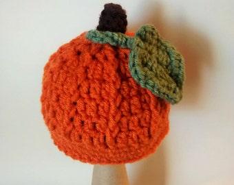 Fall Pumpkin Hat Sizes Newborn to 24 months