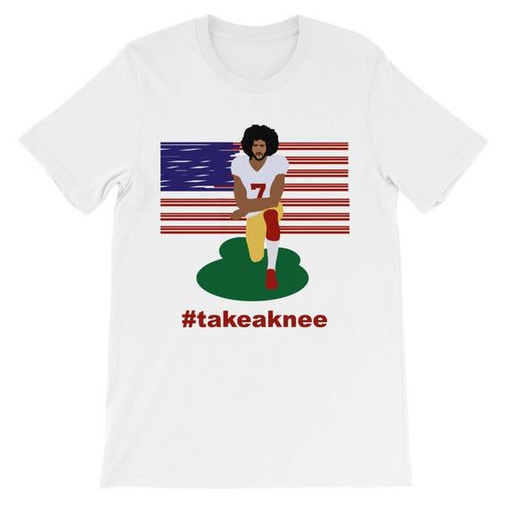 Im With Kap - Take a Knee - Colin Kaepernick - NFL Sunday Protest - US Flag Protest - Black Lives Matter - BLM - Anti Nazi - #imwithkap VNiK0gQsl