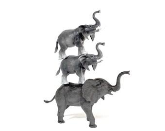 3 Vintage Elephants