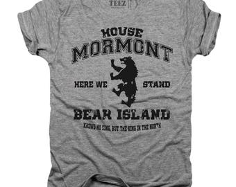 House Mormont, GOT, game of thrones, T-shirt, game of thrones shirt, jorah mormont, jon snow,trending, game of thrones gift, T112.1