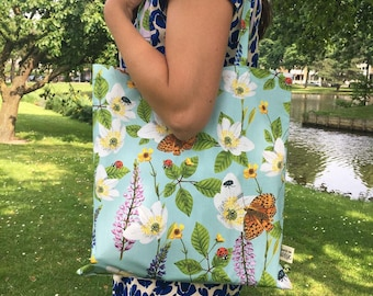 Tote Bag • Flowers & Insects