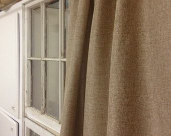 """Custom Curtains - TWO panels - choose your own fabric and size - 38"""" W x 108"""" L"""