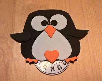 Horary Disk Penguin Felt Craft Foam