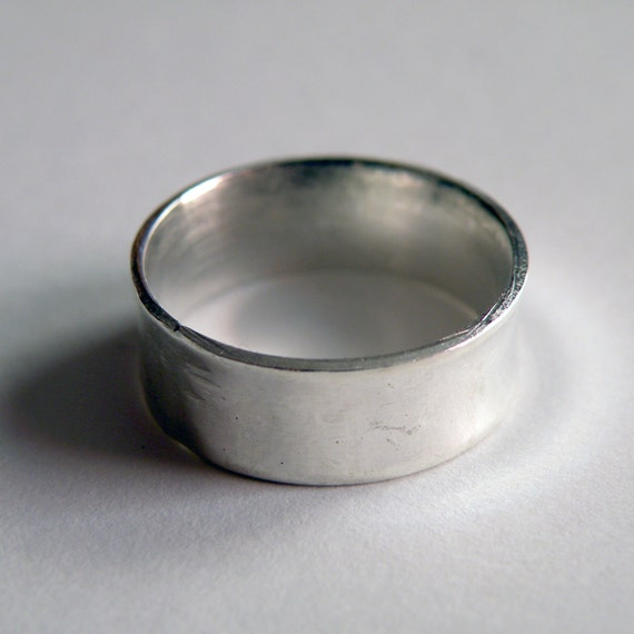 Minimal Sterling Silver band ring