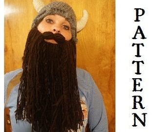 PATTERN--Viking Hat
