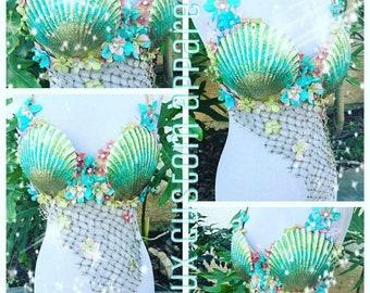 Seafoam Mermaid • Rave Bra