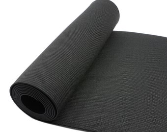 "Super Wide Black Elastic Band by the Yard, 7 7/8""  20cm wide Elastic ,Waisband Elastic, Sewing Elastic, Elastic Ribbon-1 Yard"