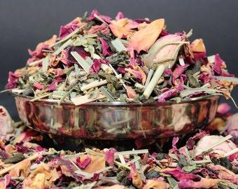 Rose Lemonade Green Tea - Loose Leaf Tea - tea - green tea - rose tea - Loose Leaf Tea - Tea - Tea Gift