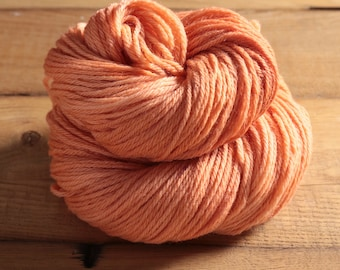 Worsted Weight Merino Yarn - Toasted Peach - Woolsome