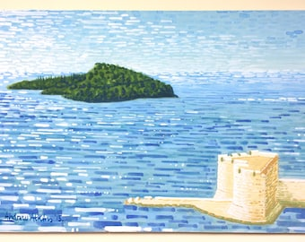 Island and Fort - Dubrovnik