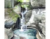 Watkins Glen Painting - P...