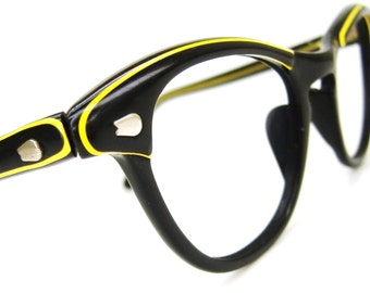 Vintage 1950s Cats Eye Glasses Eyeglasses Sunglasses Frame