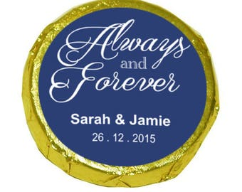 50 Personalised wedding Mint Crisps