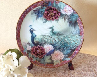 """Lily Chang """"Tranquility"""" Collector Plate"""