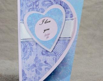Handmade Love You Card