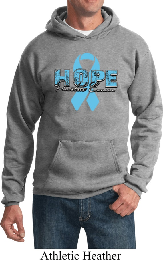 Men's Cancer Awareness Hoodie Hope Prostate Cancer Hoody 17534-PC90H ASpzYv
