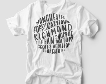 Richmond Neighborhoods Shirt