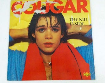 John Cougar The Kid Inside 1982 Sounds Vinyl LP Record Album MML 601