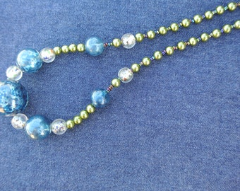 Galaxy Jewels Beaded Necklace