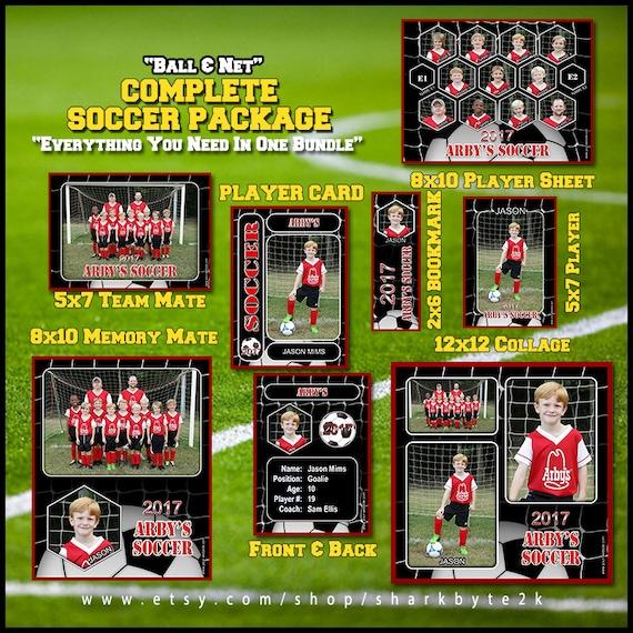 soccer team photos template