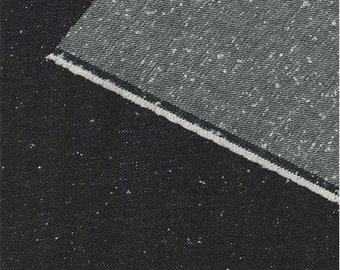 Dark Indigo 11.5 oz Novelty Slub Denim, Fabric By The Yard