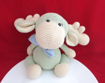 Moose, Crochet Moose, Moose Toy, Stuffed Moose, Baby Shower Gift, Animal Gift, Crochet Animal, Crochet Stuffed Animals, Kawaii, Moose Gift