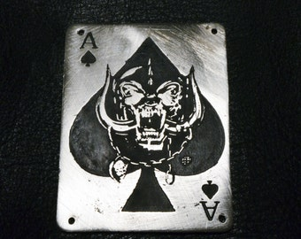 Motorhead metal badge