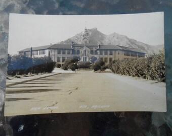 RPPC Postcard High School Ajo Arizona