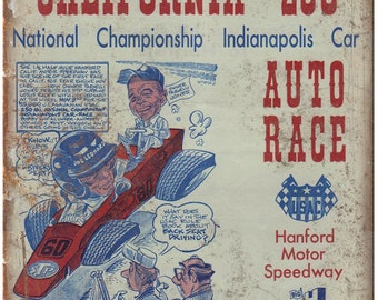"""California 250 National Championship Race 10"""" X 7"""" Reproduction Metal Sign A539"""