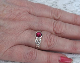 Celtic Birthstone ring