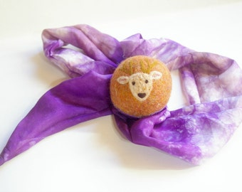 Oh Deer, Waldorf Inspired Comet Ball (All Natural Wool and Silk Toy for Kids and Toddlers)