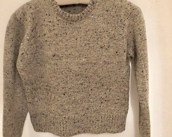 Vintage 80s sweater cropped