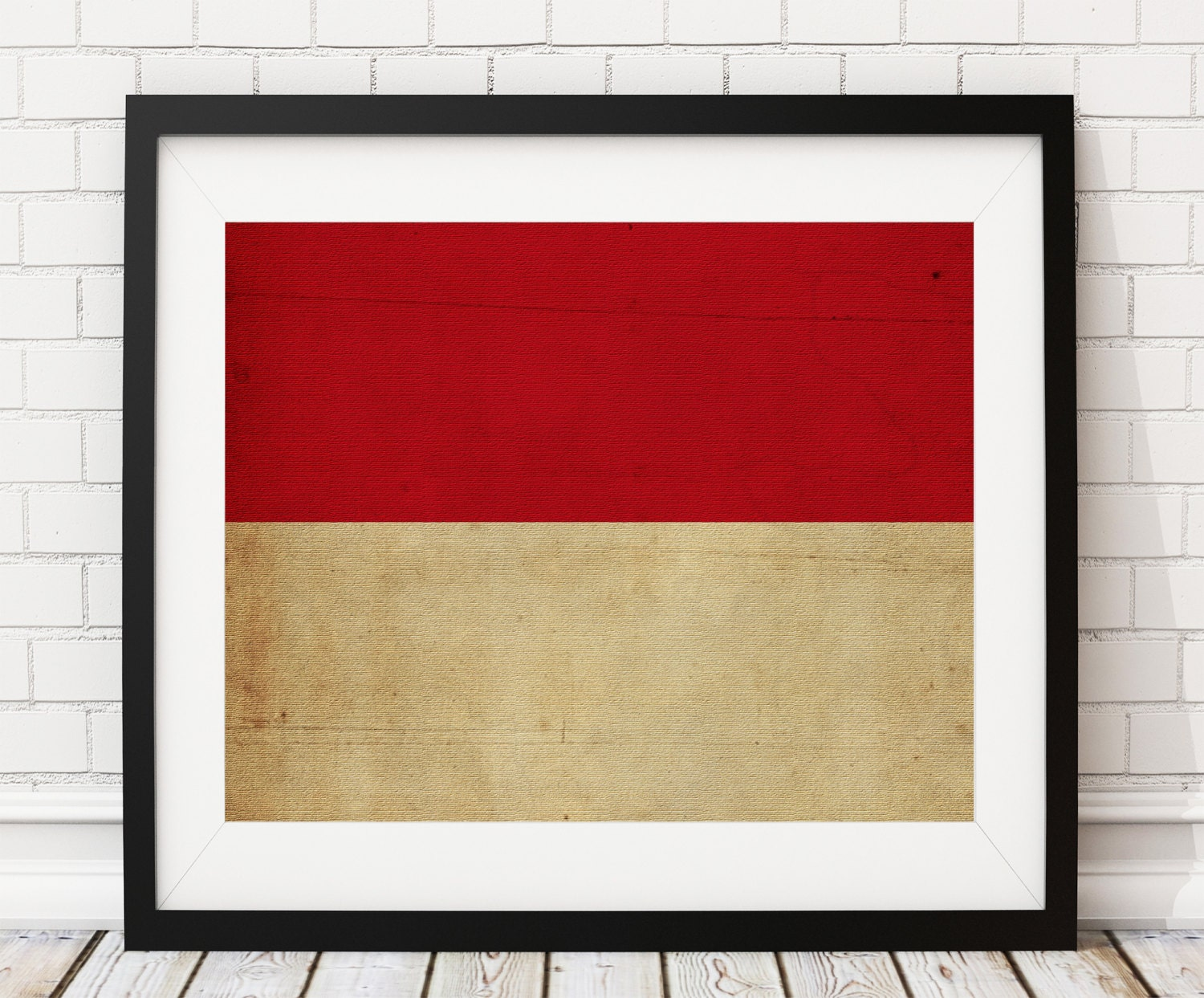 Monaco Flag Art, Monaco Flag Print, Monaco Flag Poster, Country ...