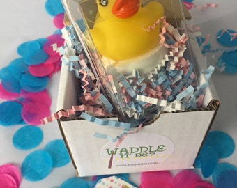 Waddle It Be? Gender Reveal Announcement for Out-Of-Town Family and Friends