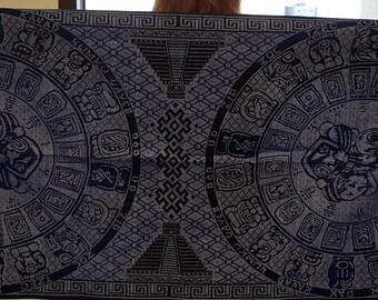 Aztec or Mayan Calendar Wraps (Rebozos)