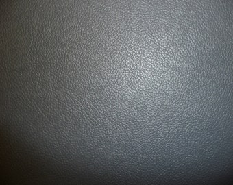 "Leather 20""x20"" Divine DARK Gray Top Grain Cowhide  2.5 oz / 1mm  PeggySueAlso™ E2885-05 Available in FULL Hides"
