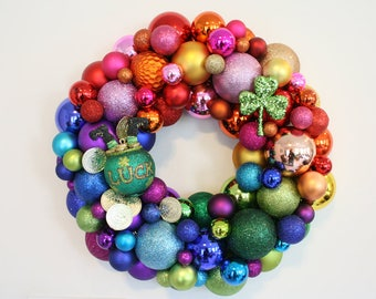Pot of gold St. Patrick's day Ornament Wreath
