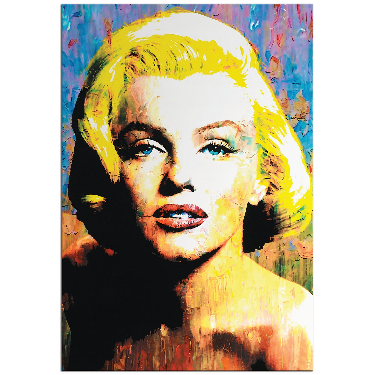 Pop Art \'Marilyn Monroe\' Pop Culture Icon Painting
