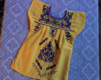 Mexican dress 2/mexico dress 2-3yrs/fiesta dress