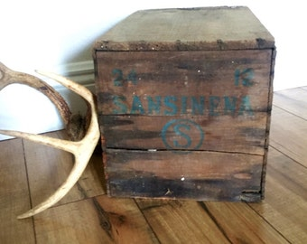packing crate furniture. Vintage Wooden Crate, Storage Box, Packing Crate Furniture