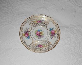 """Royal Bayreuth Bavarian 6"""" plate Vintage"""