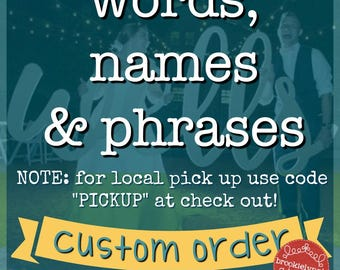 Word Name and Phrase Cutout,Wooden Cutout,Cursive Name,Home Decor,Wedding, Wedding Decor, Photography Prop, Event Decor, Event Coordinator