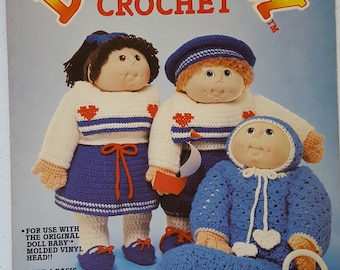 Doll Baby in Crochet Instruction Booklet